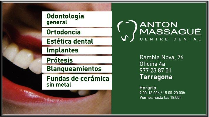 ANTON MASSAGUÉ - CENTRE DENTAL